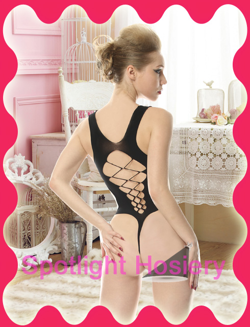 Teddy with open work front crisscross back Wholesale