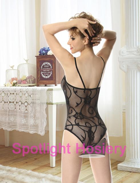 nylon teddy lingerie criss cross front manufacturer