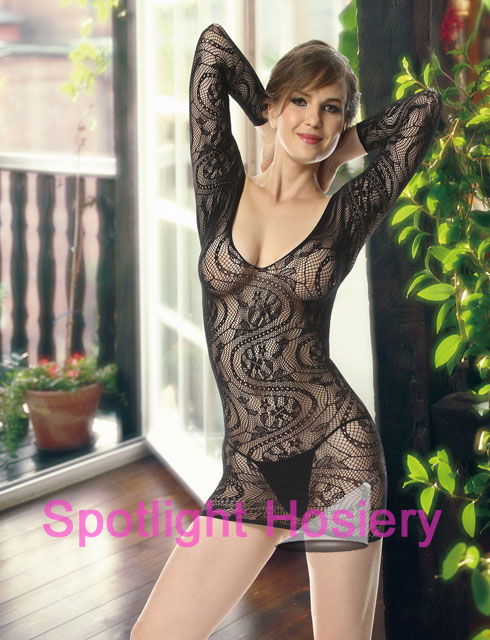 Long Sleeve Lingerie Dress Wholesale